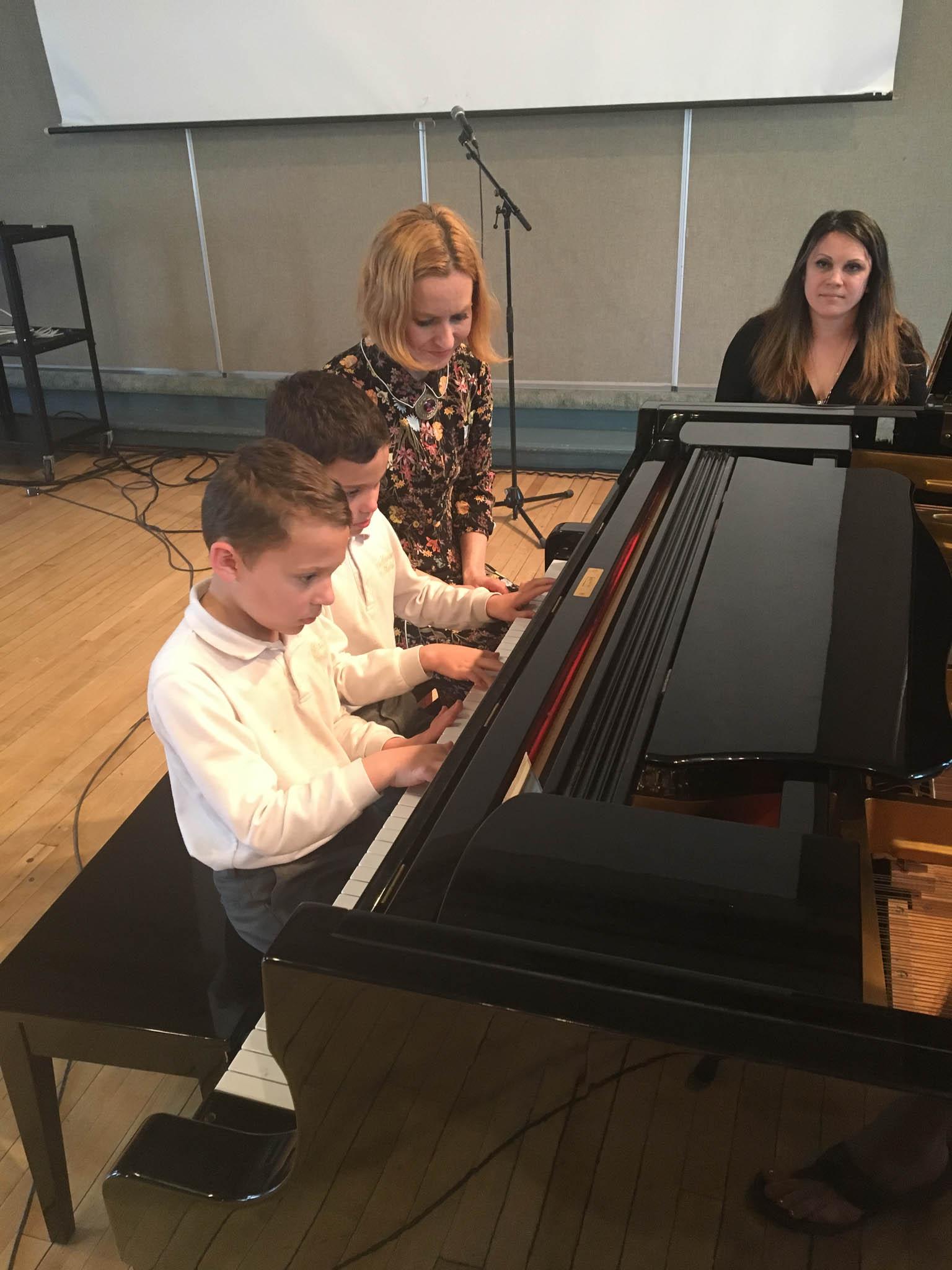 Итоговый отчётный концерт вокально-фортепианного отделения