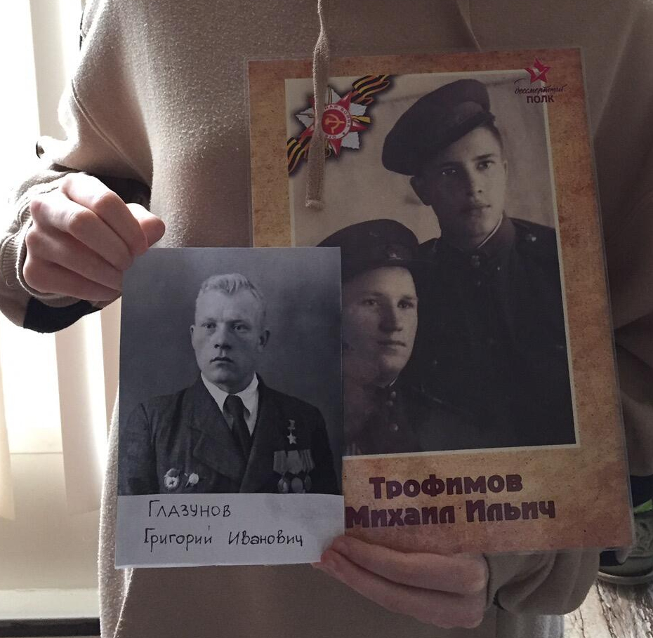 «Нет в России семьи такой, где б не памятен был свой герой…»